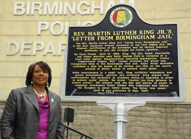Letter From Birmingham City Jail, The Martin Luther King.