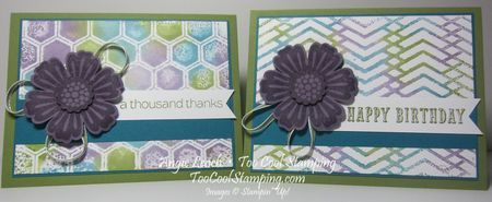 """""""Last Thursdays"""": Stamping With An Embossing Folder - Too Cool Stamping"""