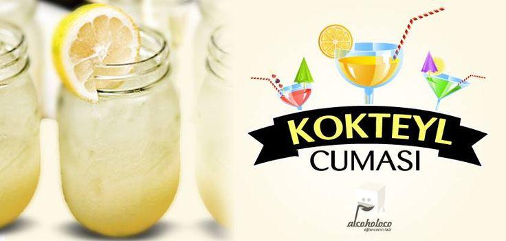 """Eğlencenin tadı bugün Kokteylcuması'nda sizlerle, """"VOTKA LİMONATA"""" kokteylini paylaşıyor!  • 1 Su Bardağı Toz Şeker • 4 Adet Limonun suyu • 1 adet misket limonu veya mandalina suyu • 7 Su Bardağı Su • 10cl votka  Bir sürahiye bir limonun kabuklarını rendeleyin (beyaz kısmını rendelemekten kaçının). Toz şeker, limon suyu ve suyun yarısını ekleyin, iyice karıştırın. İnce bir süzgeç ile süzün. Suyun kalan kısmını ve votkayı ekleyin. Buzlu bardakta servis edin."""