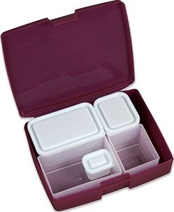 Bentology Bento Boxes - made in the US. Free of BPA, PVC, Phthalates and lead.