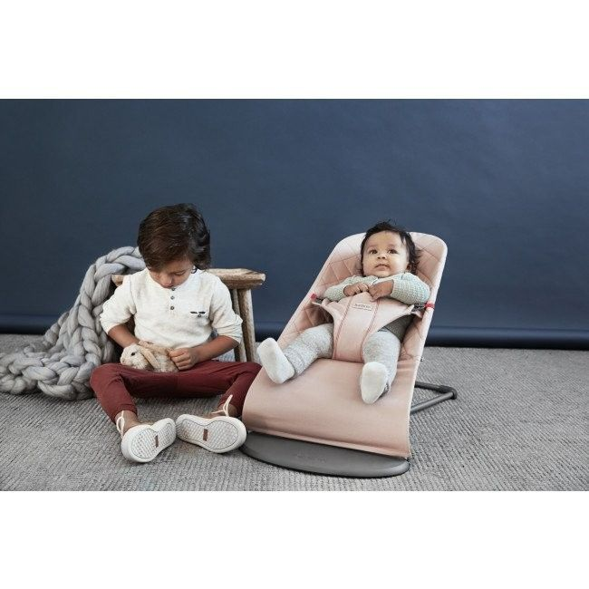 BabyBjorn Cotton Bliss Bouncer - Old Rose