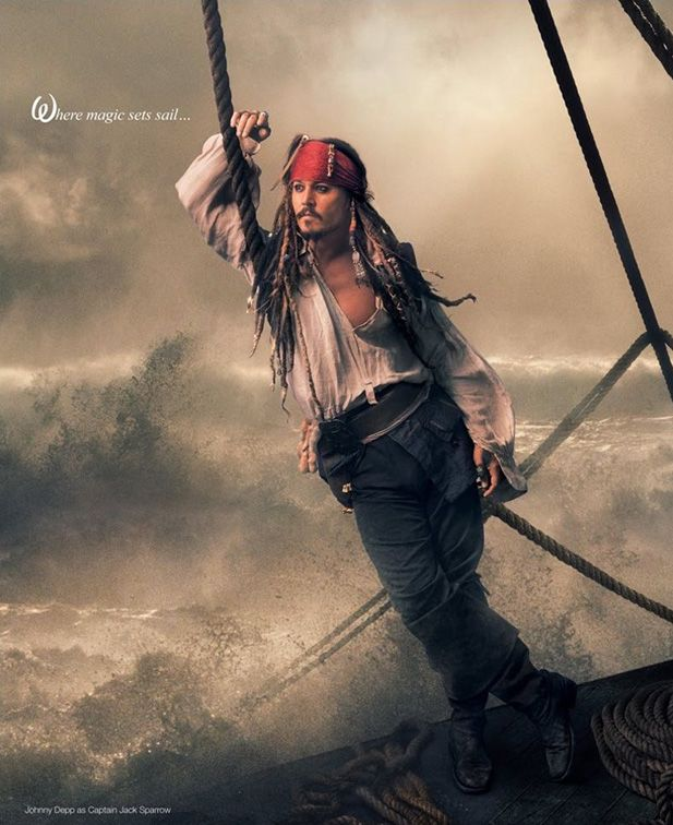 Pirati dei Caraibi - Jack Sparrow (Johnny Depp)