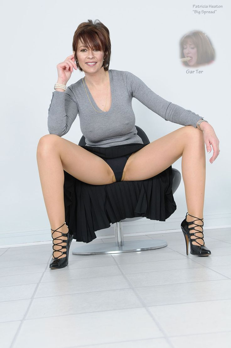 a pantyhose heaton skirt in pictures Patricia