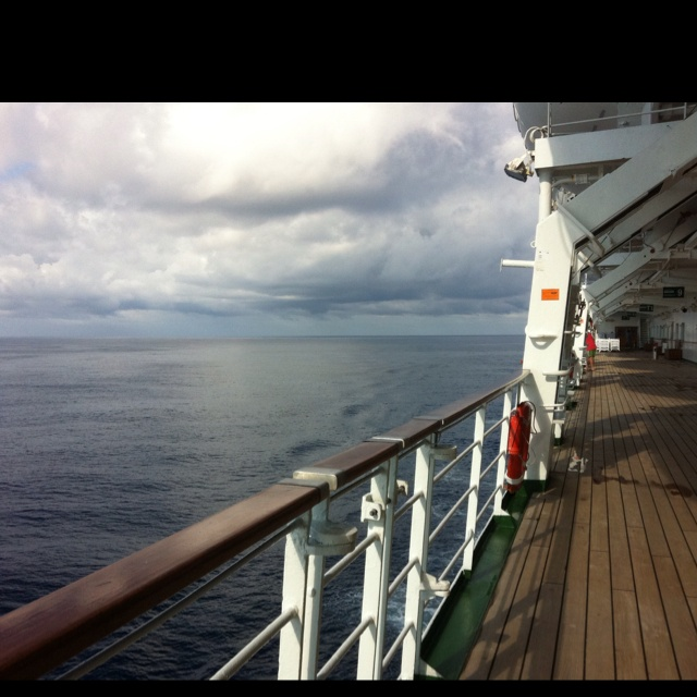 P&O Cruises took me to a place I've never been... Open sea :)