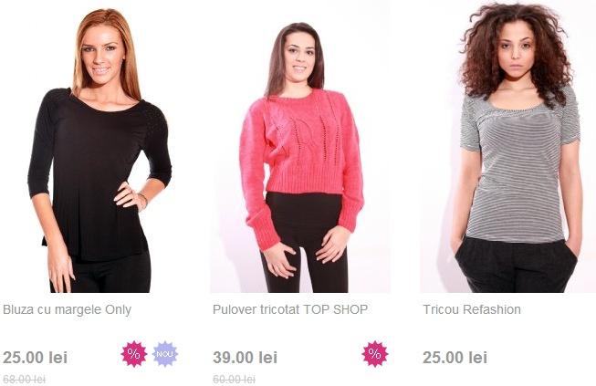 Tricouri, bluze sau rochite pe ReFashion.ro | Zgarciti.ro - Comunitatea Zgarcitilor din Romania