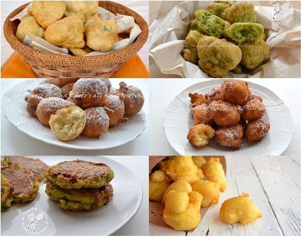 Ricettario gratuito Zeppole dolci e salate