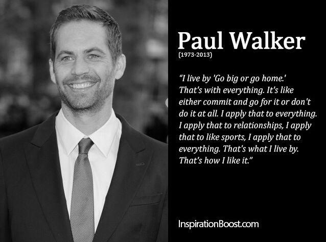 #RuffRider   Zitate paul walker, Sprüche zitate, Gedanken