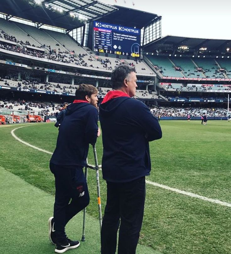 Jack And father Todd Viney