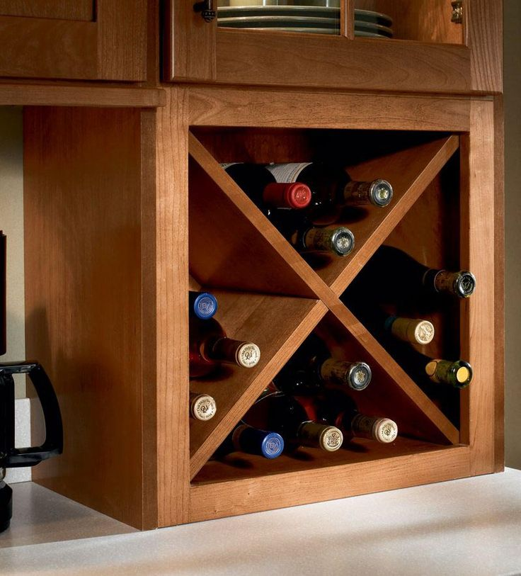 Bathroom Supply Store Near Me >> Storage Solutions Details - Wine Storage Cabinet - KraftMaid | Wine storage cabinets, Wine rack ...