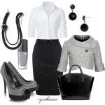 Work Clothes | Shadows: Office, Fashion, Idea, Style, Clothes, Dress, Workoutfit, Work Outfits, Black