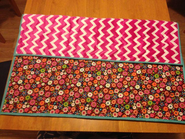 Bright flower play mat