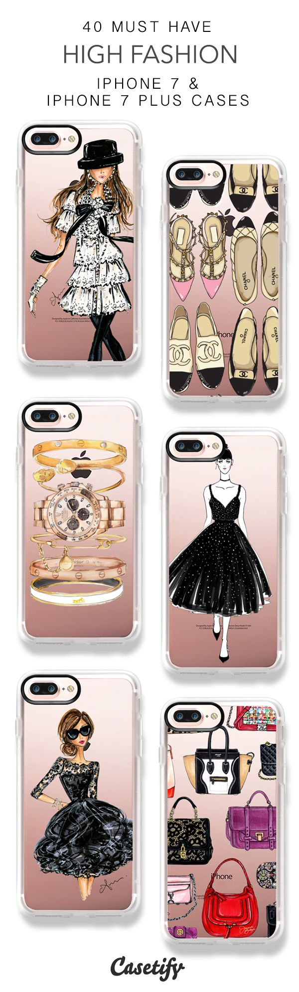 40 Must Have High Fashion iPhone 7 Cases and iPhone 7 Plus Cases. More Fashion iPhone case here > https://www.casetify.com/collections/top_100_designs#/?vc=uutcHzRcgU