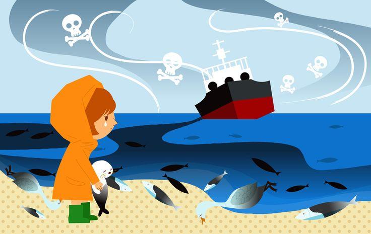 environmental disruption 環境問題 - GATAG|フリーイラスト素材集