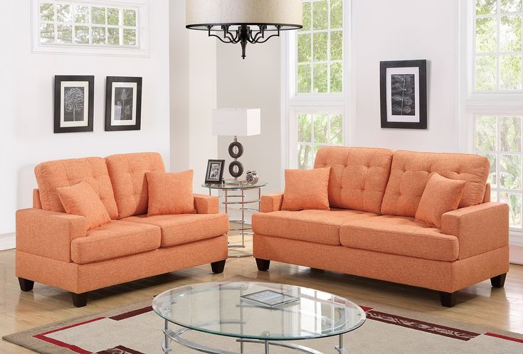 Best Saphira 2 Piece Living Room Set Sofa Loveseat Set 640 x 480