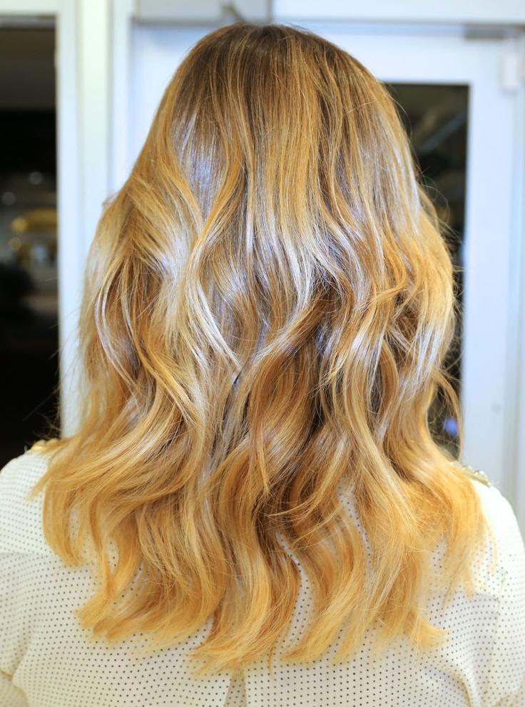 caramel brown hair