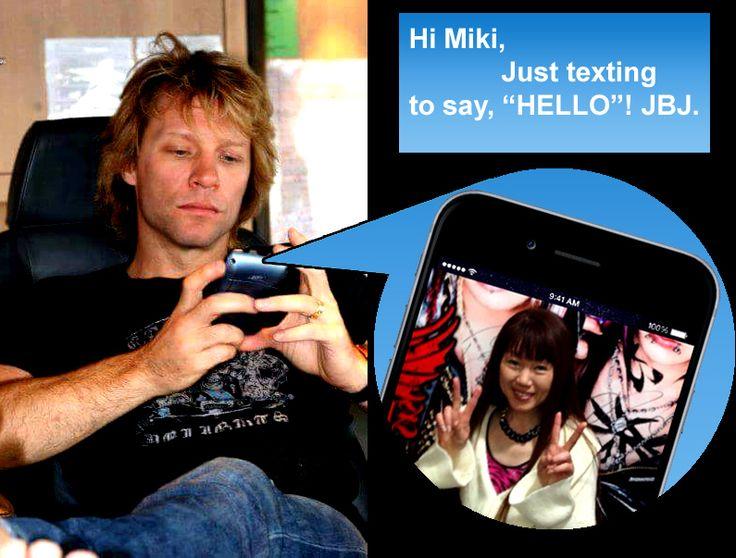 JBJ Text Message!