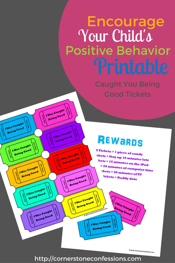 Encourage Your Child's Positive Behavior With This Free
