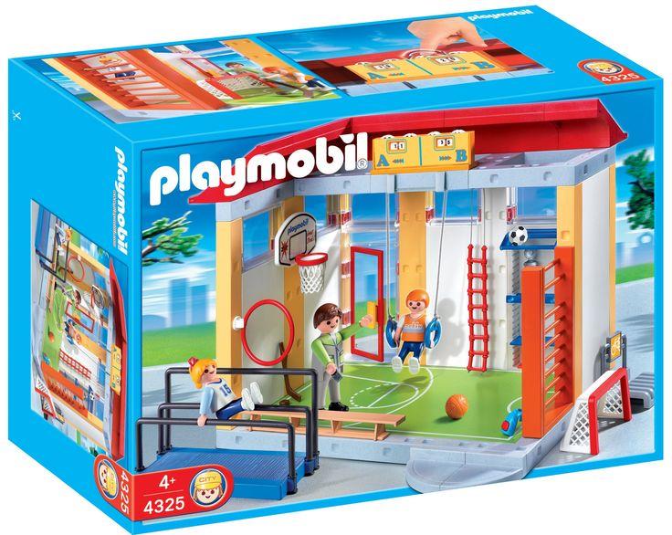 PLAYMOBIL School Gym Playset Construction Set