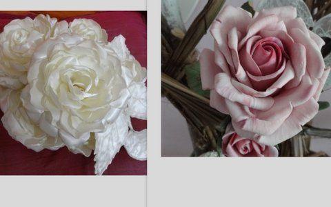 Se vuoi far sbocciare delle meravigliose rose in porcellana fredda od in tessuto, puoi imparare comodamente a casa tua con i videocorsi, se vuoi saperne di più contattami con msg o via mail a tamaramambrini@yahoo.it