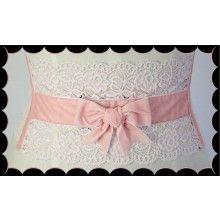 Audrey Corset Belt (Pink) - $69.00