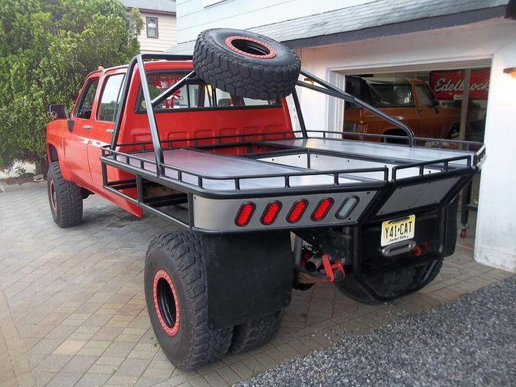 X Flat Bed Truck Body