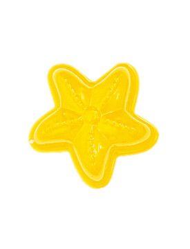 Sandform Plåt - Sjöstjärna, Gul