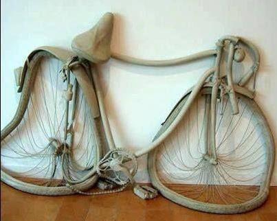 Salvador Dali - Persistence of Bicycle