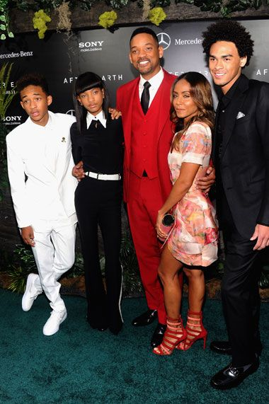 Will & Jada Smith Family... Jaden, Willow,  Will, Jada, Trey ❤