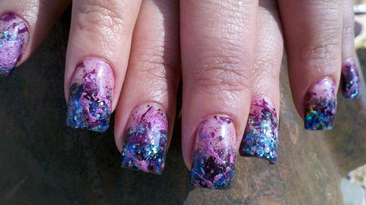 Splatter Nails....