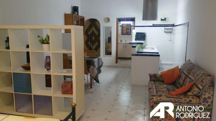 #Alquiler de #Estudio en Port des Torrent #Ibiza  Estudio de un solo ambiente, baño independiente, terraza, bien iluminado con gastos incluidos en el precio.