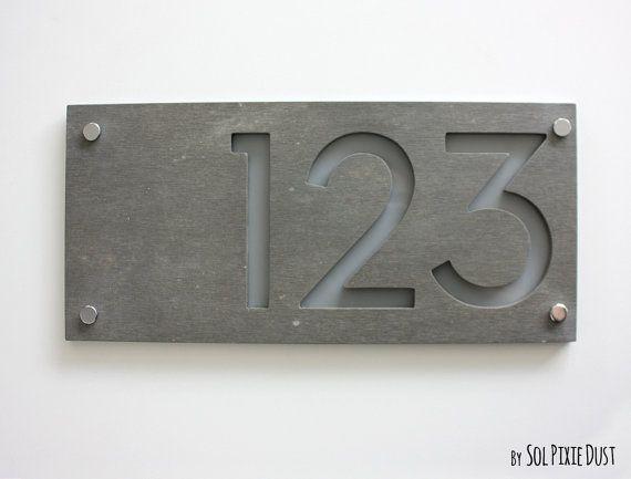 les 25 meilleures idées de la catégorie door number plaques en