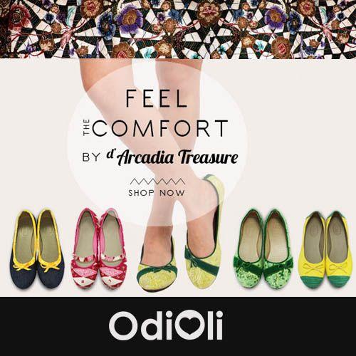 Preserve Indonesia Heritage by using Batik. We love D'Arcadia Treasure shoes for their love of Batik.