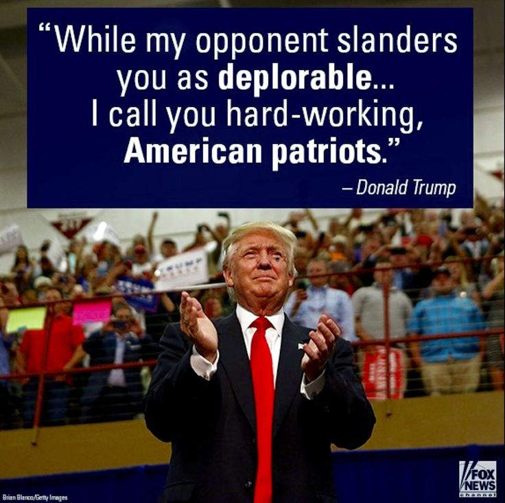 American Patriots for Trump! Hillary is an old hag who thinks she's above…