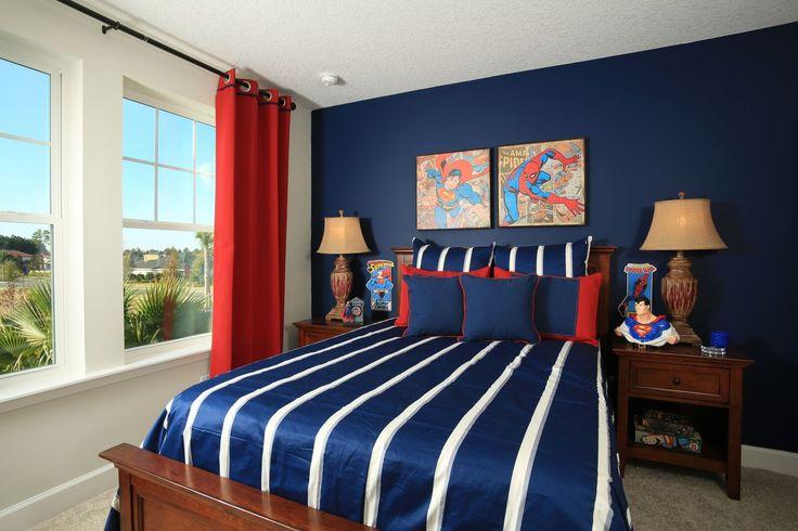 Bedroom 3- Superman/Spiderman Bedroom