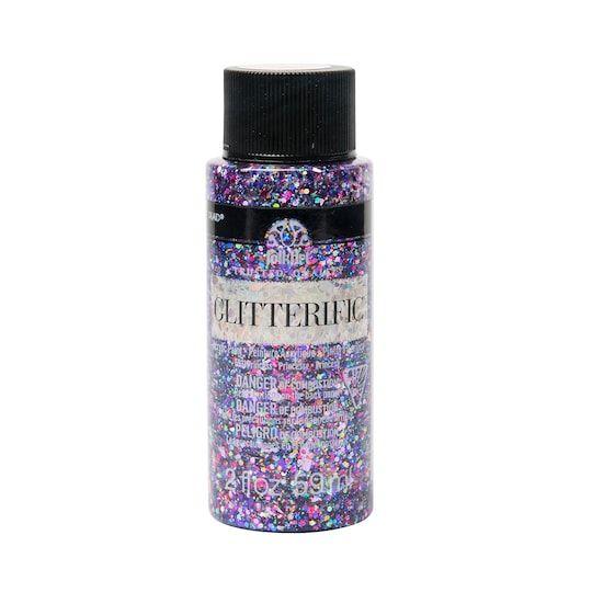 Plaid Folkart Glitterific Acrylic Paint Glitter Paint Folk Art Painting