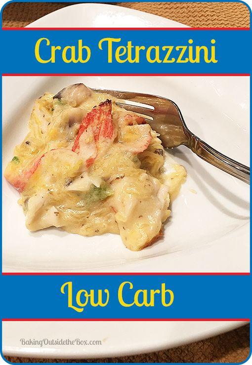 crab tetrazzini low carb recipe the box the o 39 jays and tetrazzini. Black Bedroom Furniture Sets. Home Design Ideas