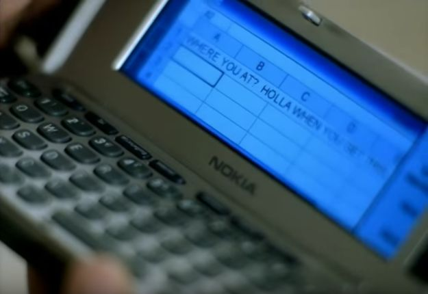 """'Cept there was one thing in the music video that didn't quite make sense, even for 2002………………. Kelly was tryna hit up Nelly via Excel spreadsheet!!! 