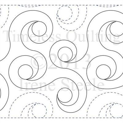 Spiral Rings by Timeless Quilting