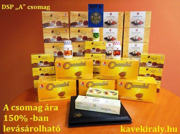 "DSP ,,A"" csomag  kavekiraly.hu A királyok kávéja a gyógynövények királyával"