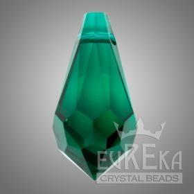 Emerald 6000 Drop 13x6.5 mm | Eureka Crystal Beads