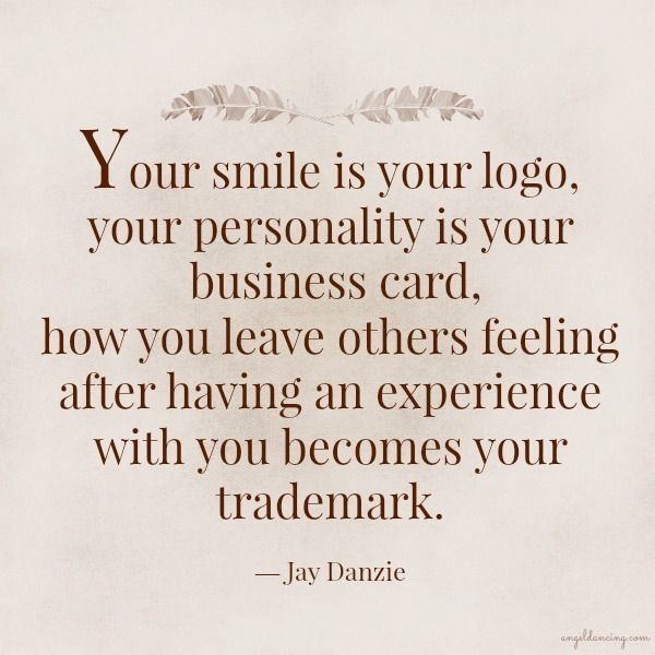 Your logo, business card, and trademark...