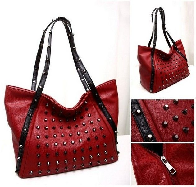 PCA1636 NR Colour Red Material PU Size L 37 H 28 W 18 Price Rp 160,000