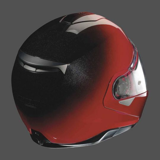 Nolan N100-5 Fade N-Com Helmet - Fade Cherry