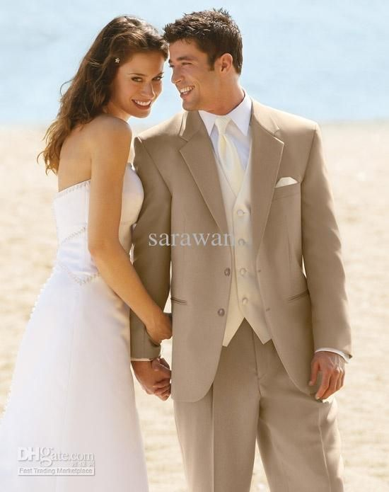 Cheap Champagne Groom Suit 2013 - Discount Custom Made Groom Suit ...