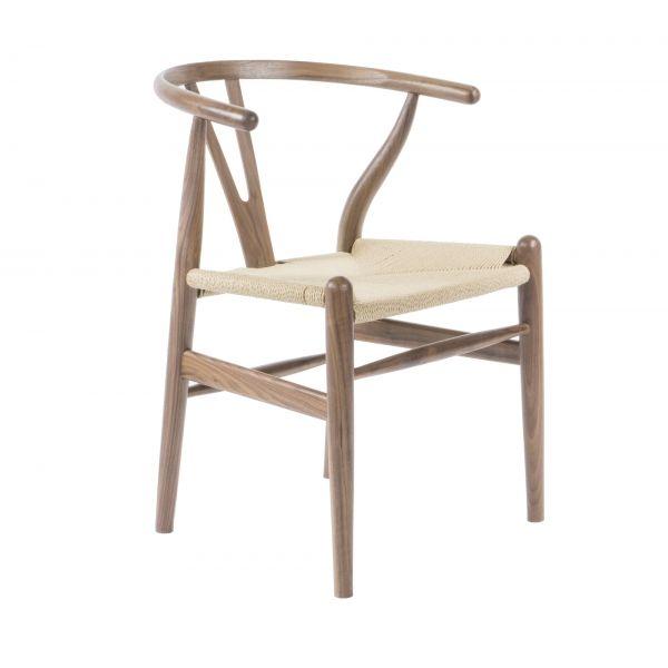 Best Wish Chair Solid Walnut Natural Solid Walnut Dining 400 x 300