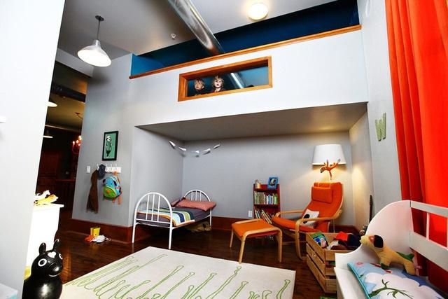 Play room + loft