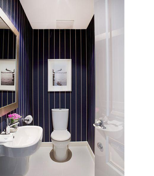 Kritstreck och glencheck på toaletten | Badrumsdrömmar
