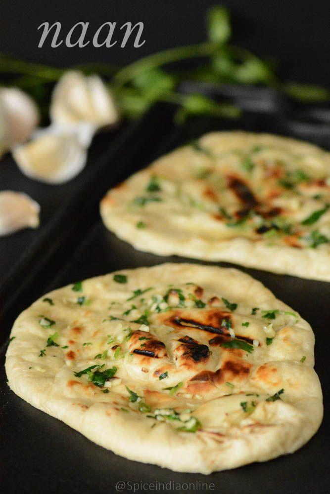 Garlic cilantro naan recipe dishmaps forumfinder Gallery
