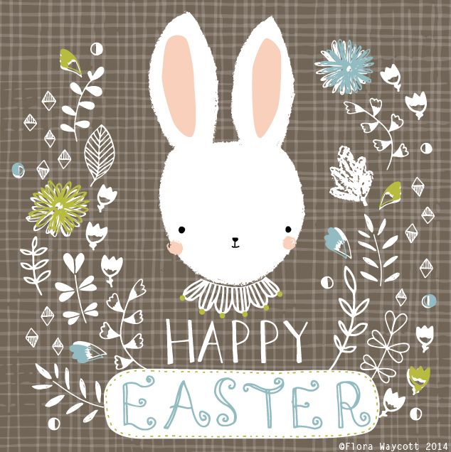 Flora Waycott Happy Easter (Cookie Inspiration)