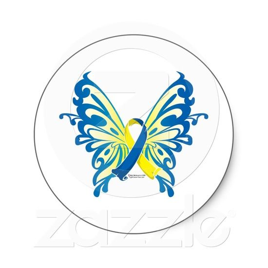 Down Syndrome Butterfly